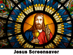 jesus screensaver