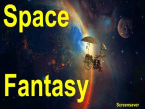 space fantasy screensaver roku