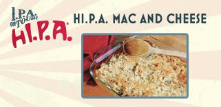 hI.P.A Mac and Cheese
