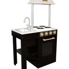 Wood Kitchen Set Round Drop Leaf Table Fao Schwarz Thebay Com