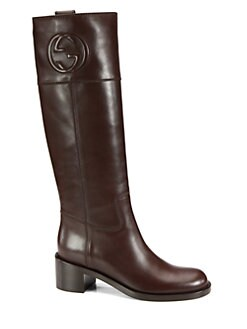 Gucci - Soho Leather Boots