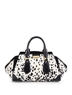 Burberry Prorsum - Hair Calf and Leather Satchel