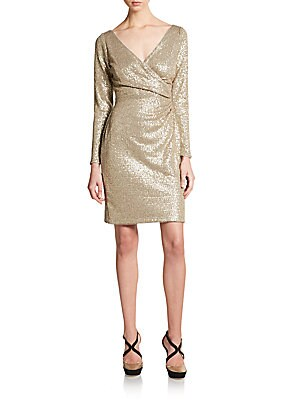Long sleeve holiday dress 2015. Shop www.showmethemuhnie.com/2015/10/13/25-obsession-worthy-holiday-dresses