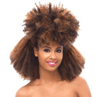 Janet Collection Afro Kinky Bulk Hair 24 | Short Hairstyle ...