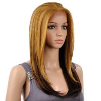 dx hair color new born free synthetic lace front wig cutie ...