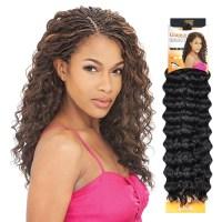 Model Model Glance Braid Twin Deep Crochet Braids African ...