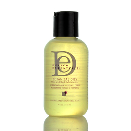 design essentials botanical oils hair and body moisturizer 4oz samsbeauty