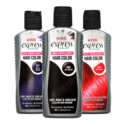 how to remove semi permanent hair color kiss express semi