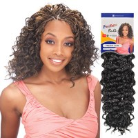 Crochet Braids With Freetress Presto Curl | Short ...