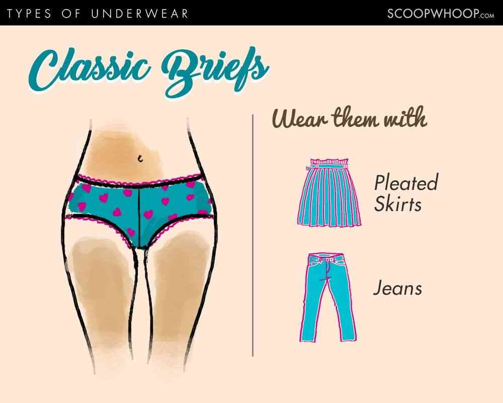 9 Types Of Underwear For Women 9 Types Of Panties