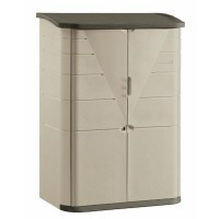 New Rubbermaid Big Storage Shed Indoor Outdoor Cabinet ...
