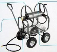 New Heavy Duty 300' Hose Reel Cart Metal Rolling Outdoor ...