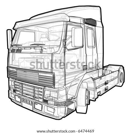 Car Outline Engine, Car, Free Engine Image For User Manual