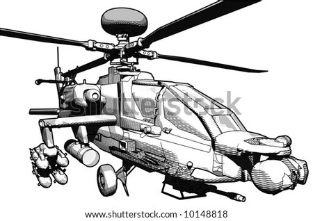 Apache Helicopter Engine, Apache, Free Engine Image For