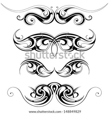 Celtic Tattoo Designs Free Vector / 4Vector