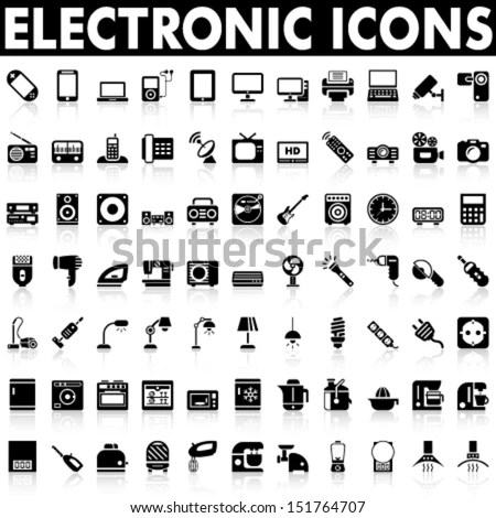 Vector Images, Illustrations and Cliparts: Electronic