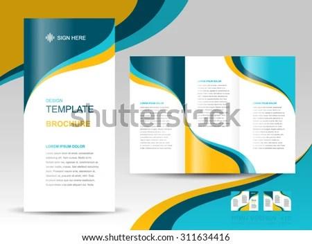 Geometric Brochure Design Vector Template Download Free Vector Art