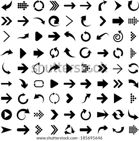 Free Vector Arrows Illustrator