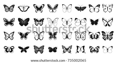 Yellow Butterfly Clip Art Simple Butterfly Clipart Stunning free transparent png clipart images free download