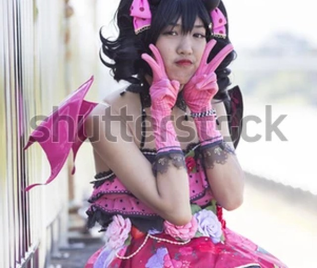 Asian Cosplay Girl Japanese Style 570496771
