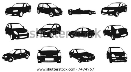 Vectorial Image Of Cars. Stock Vector Illustration 7494967