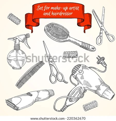 tools make- and hair
