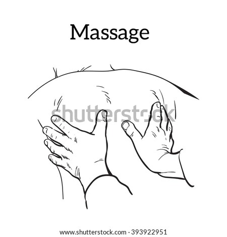 High Resolution Manual Massage Therapy