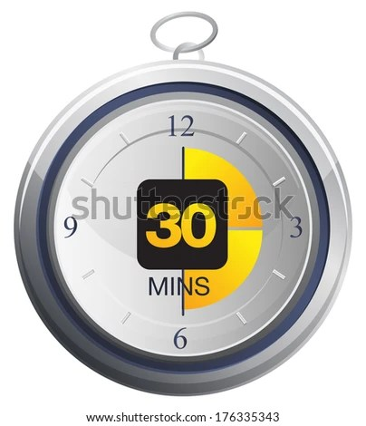 Timer Icon - Illustration - stock photo