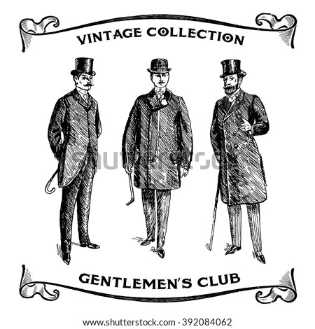 Vector Images, Illustrations and Cliparts: Vintage Hand