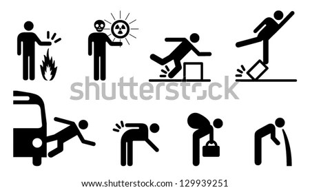 In Case of Earthquake Emergency Plan… Stock Photo