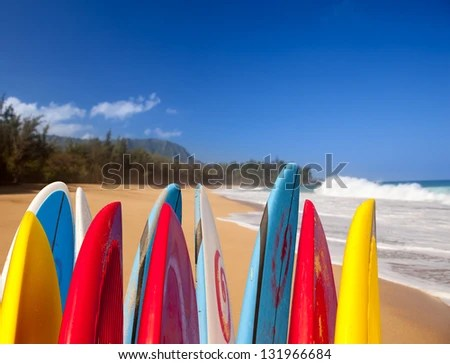 Use of surfboard images for more stock photos