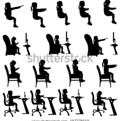 Correct Posture Lounge Chair Ergonomic Living Room Royalty-free Sitting On Sofa Couch Working Chair… #508744588 Stock Photo | Avopix.com