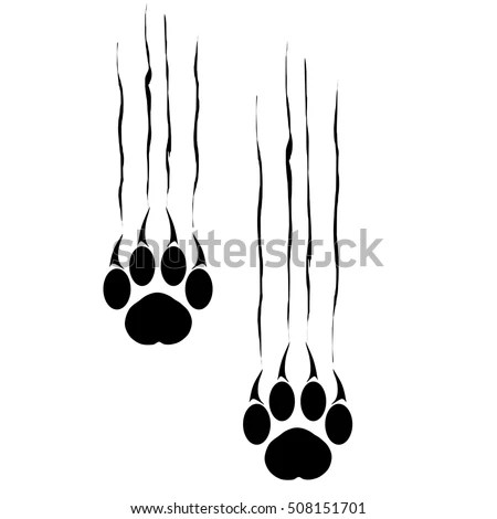 Vector Images, Illustrations and Cliparts: Footprints of a