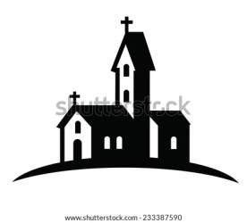 White Clipart Bible Church Clipart Black And White Stunning free transparent png clipart images free download