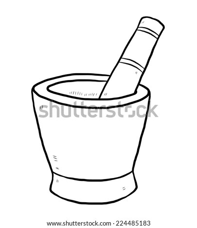 Royalty Free Stock Photos and Images: mortar and pestle