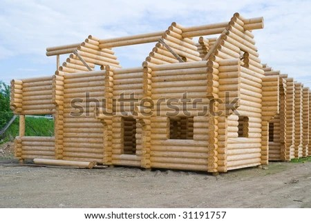 build house in wood