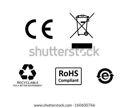 Rohs logo vector