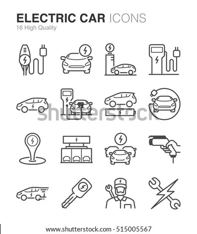 Electric Vehicle Symbol Electric Room Symbol Wiring