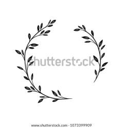 Decoration Floral Flower Frame Leaf Organic Wreath Icon Leaf Wreath PNG Stunning free transparent png clipart images free download
