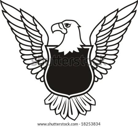 Eagles Crest clip art Free Vector / 4Vector