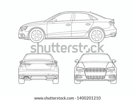 Audi logo vector