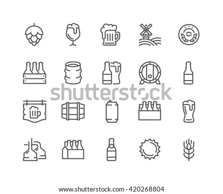 Beer-02 icon vector
