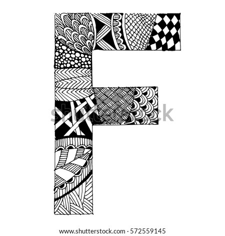 Royalty-free Doodle ABC, crazy letter T #85828282 Stock