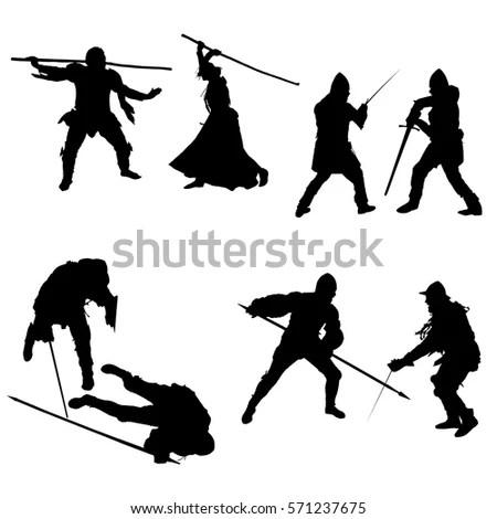 Set of Ancient Greek Warriors… Stock Photo 223533259