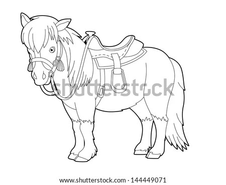 Country Western Coloring Pages