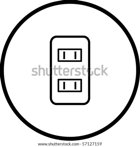 Power Outlets Symbol Stock Photo 57127159 : Shutterstock