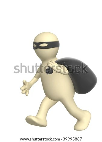 stock photo : Thief