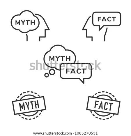Myth logo vector