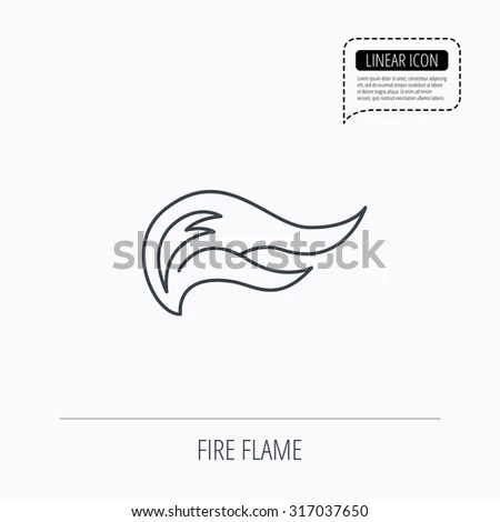 Vector Images, Illustrations and Cliparts: Fire flames
