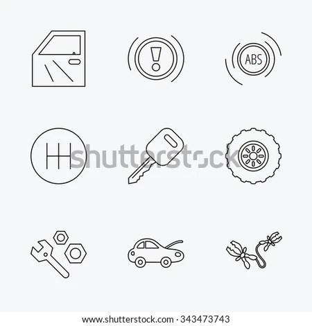 Royalty-free Formula car logo hand draw with many